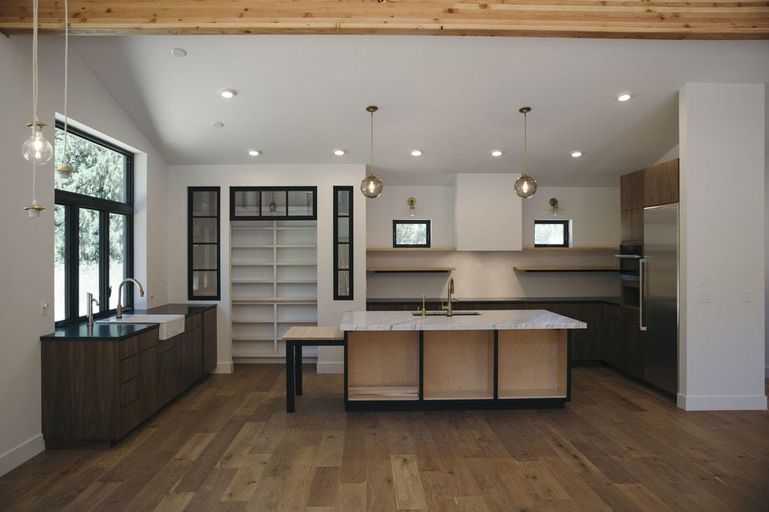 Olympia Modern Kitchen - M. Hedges Furniture